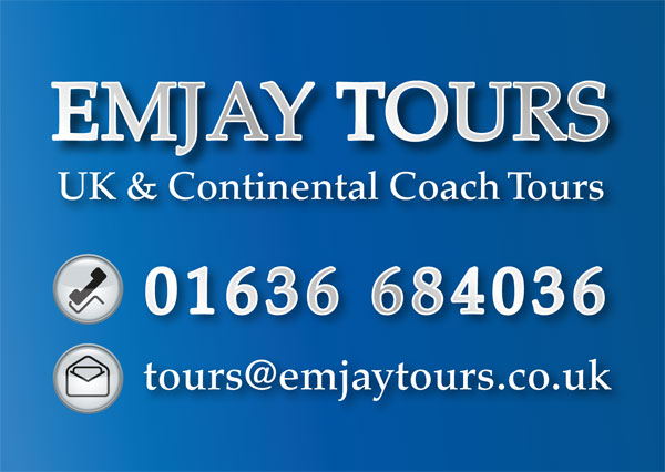 Coach Tour Operators, Emjay Tours, Nottinghamshire, Day trips, excursions, holidays
